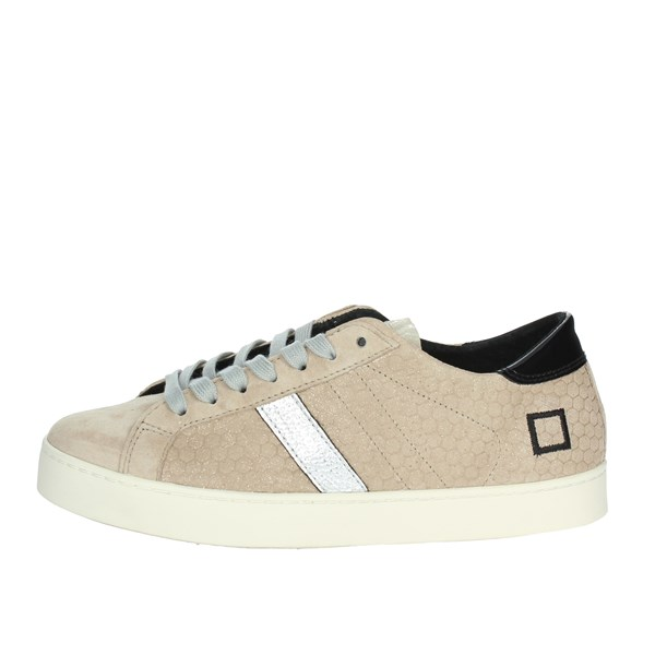 D.a.t.e. Scarpe Donna Sneakers BEIGE HILL LOW-69I