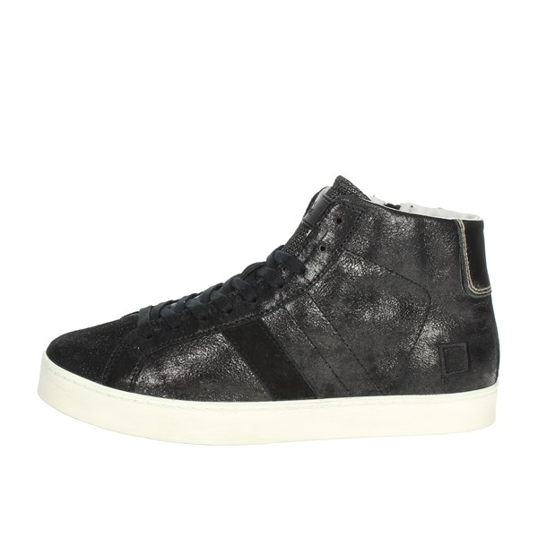 D.a.t.e. Scarpe Donna Sneakers NERO HILL HIGH-56I