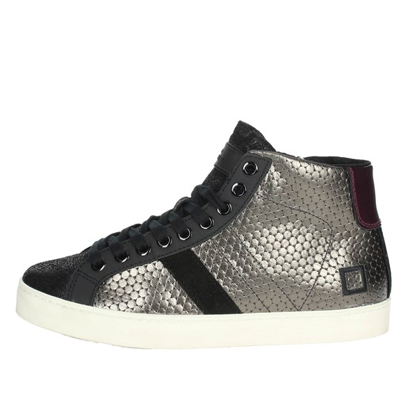 D.a.t.e. Scarpe Donna Sneakers ANTRACITE HILL HIGH-53I