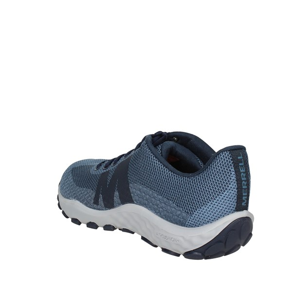 <Merrell Shoes Low Sneakers Blue J94111