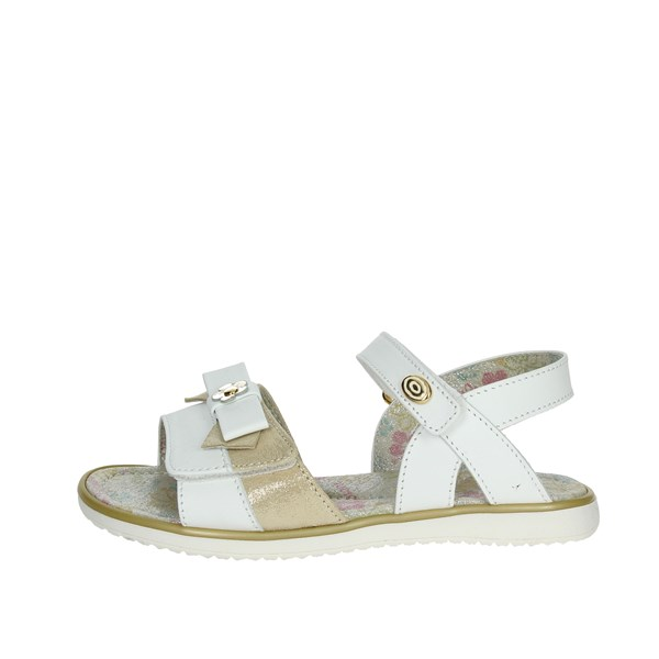 Viviane Shoes Sandals White/Gold 3002-A
