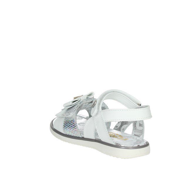 Viviane Shoes Sandals White/Silver 3002-A