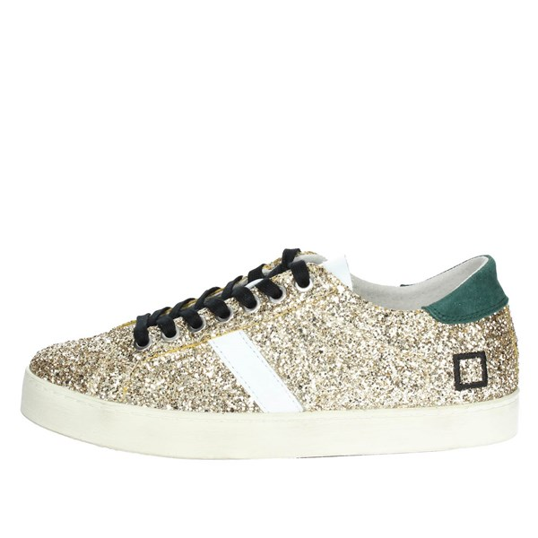D.a.t.e. Scarpe Donna Sneakers ORO HILL LOW-14I