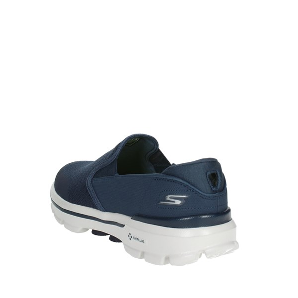 <Skechers Shoes Slip-on Shoes Blue 53988/NVGY