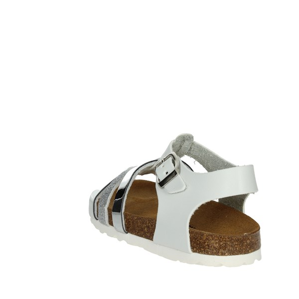 <Bamboo Shoes Sandal Silver BAM-217