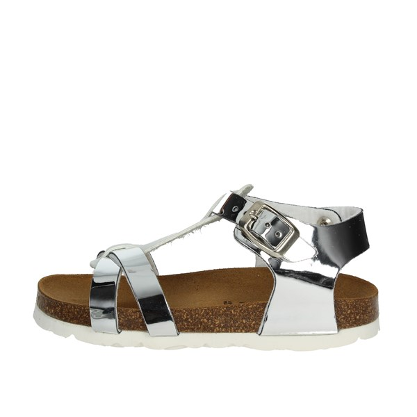 Bamboo Shoes Sandal White/Silver BAM-215