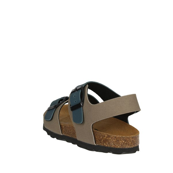 <Bamboo Shoes Sandal Blue/dove-grey BAM-14