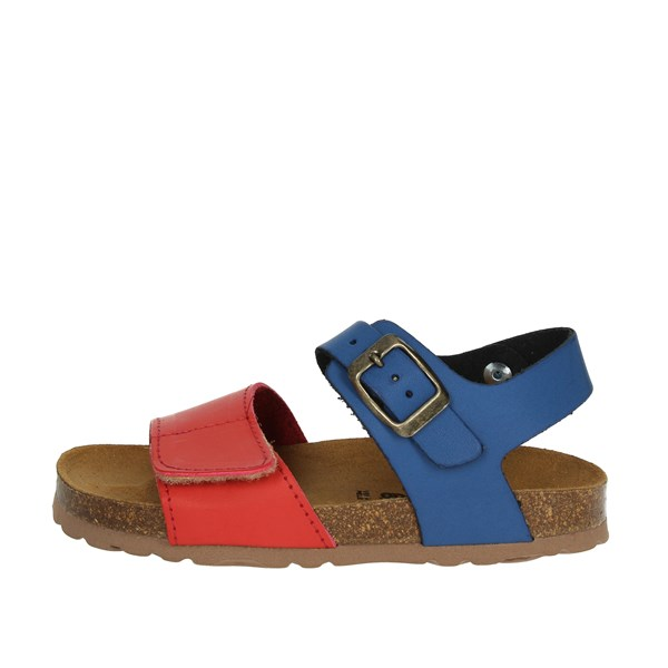 Bamboo Shoes Sandal Blue/Red BAM-218