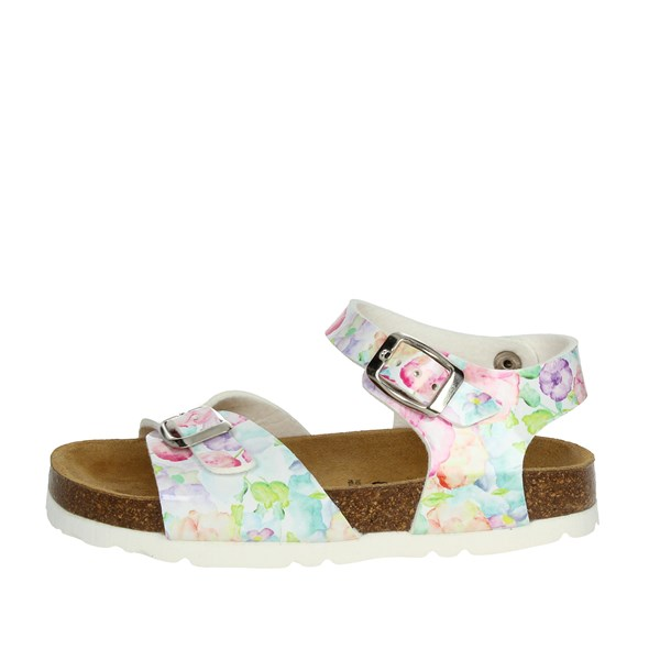 Bamboo Shoes Sandal Flowered BAM-10