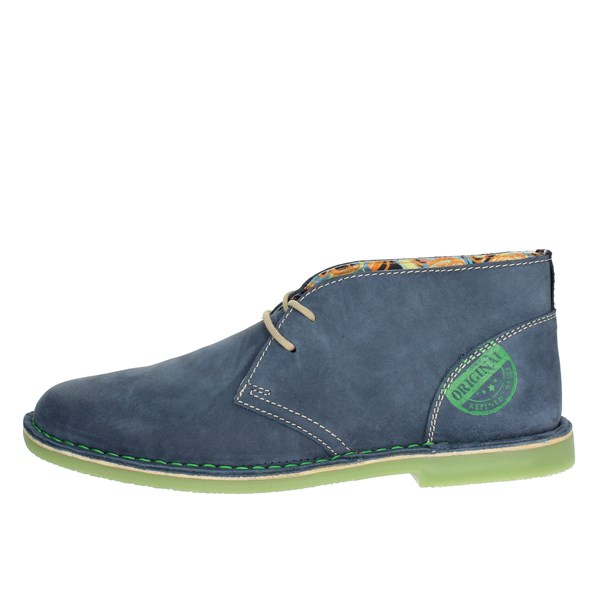 Zen Shoes Laced Blue Avion 477114