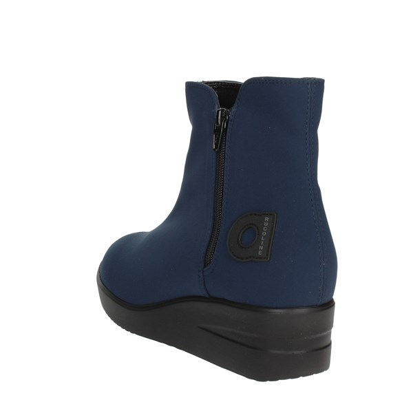 <Agile By Rucoline  Shoes Ankle Boots With Wedge Heels Blue 211-33