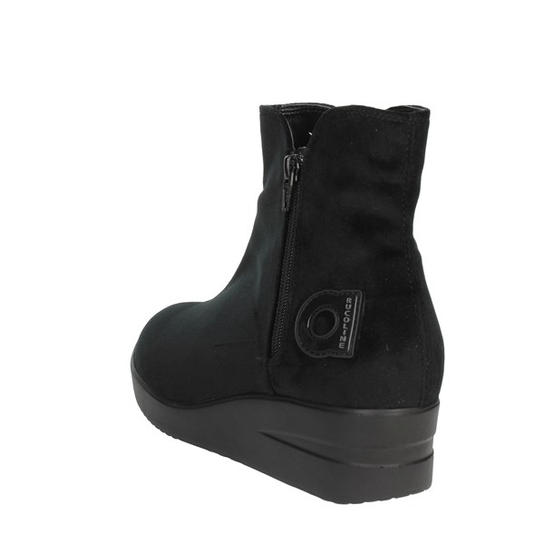 <Agile By Rucoline  Shoes Ankle Boots With Wedge Heels Black 211-34