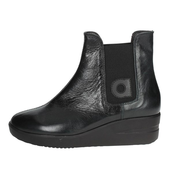 Agile By Rucoline  Shoes Ankle Boots With Wedge Heels Black 209-38
