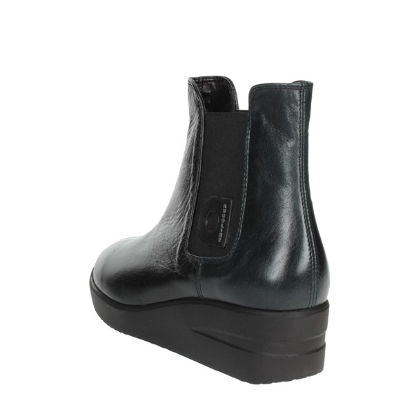 <Agile By Rucoline  Shoes Ankle Boots With Wedge Heels Black 209-38