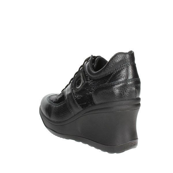 <Agile By Rucoline  Shoes High Sneakers Black 1800-51