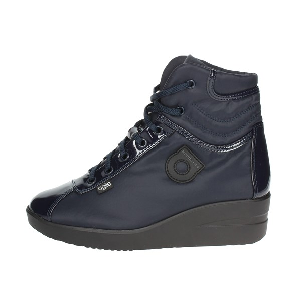 Agile By Rucoline  Shoes High Sneakers Blue 200-53