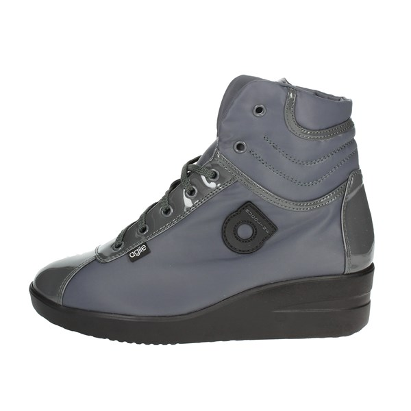 Agile By Rucoline  Shoes High Sneakers Charcoal grey 200-54