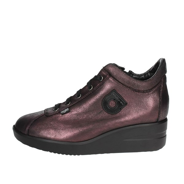 Agile By Rucoline  Shoes Low Sneakers Burgundy 226-56