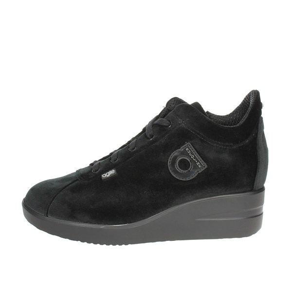 Agile By Rucoline  Shoes Low Sneakers Black 226-57