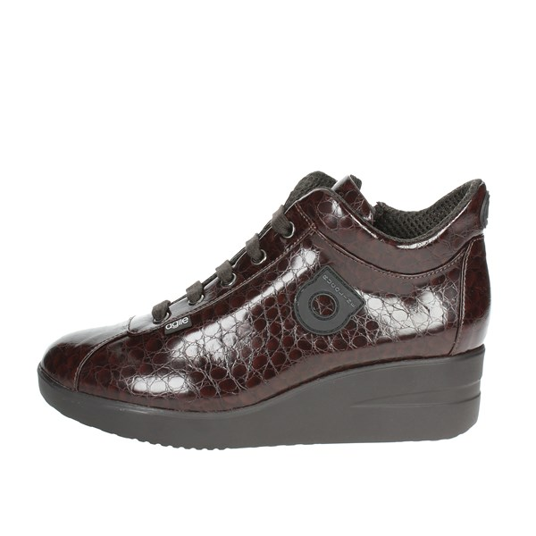 Agile By Rucoline  Shoes Low Sneakers Brown 226(34)