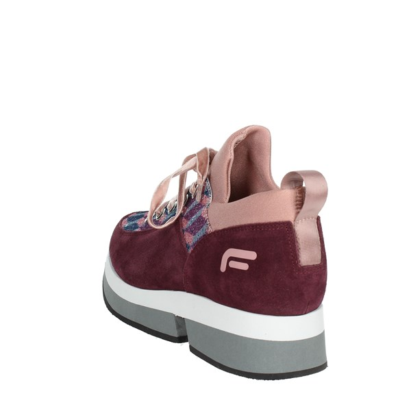 <Fornarina Shoes Sneakers Burgundy PI18SL1080VV67