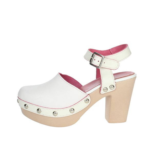 Fornarina Shoes Sandals White PE1717MI1021C009
