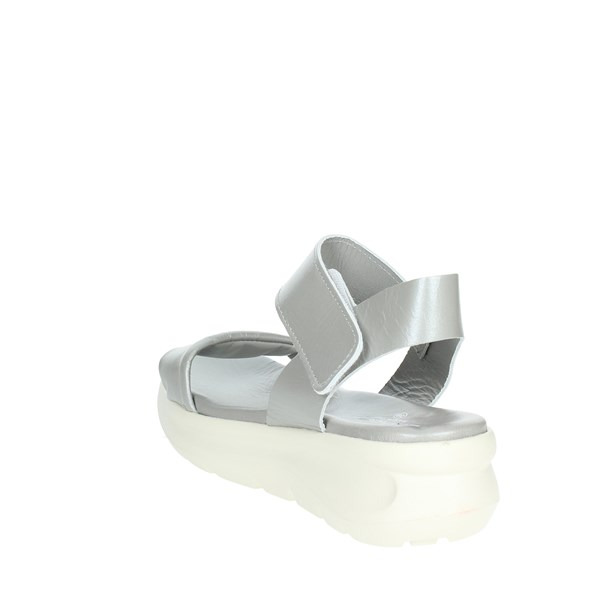 Fornarina Shoes Sandals Silver PEFVH9510WMA9000