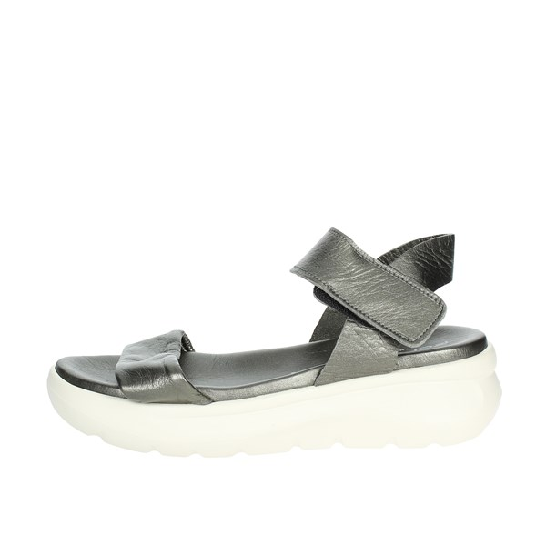 Fornarina Shoes Sandals Charcoal grey PEFVH9510WMA9300