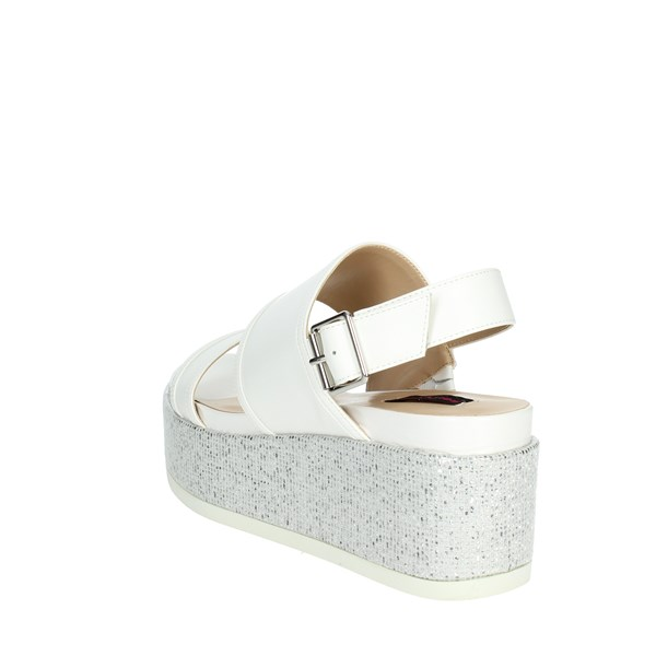 Fornarina Shoes Sandals White PE17RI1010A009