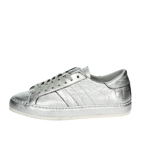 D.a.t.e. Shoes High Sneakers Silver I18-174