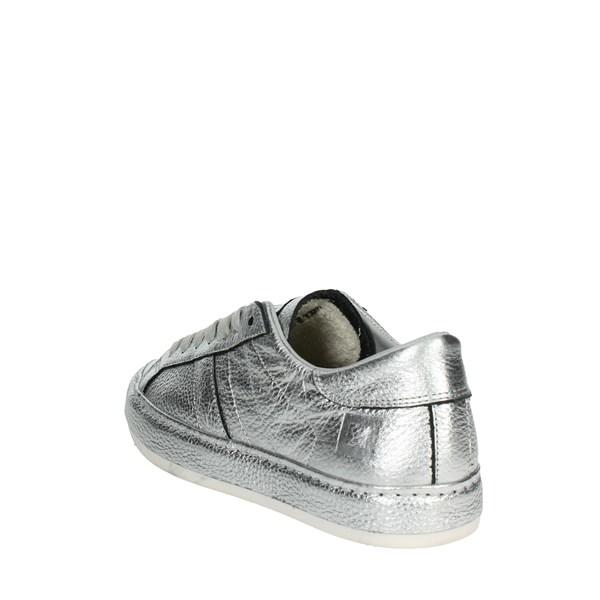 <D.a.t.e. Shoes High Sneakers Silver I18-174