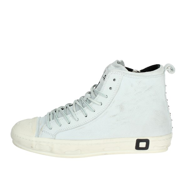 D.a.t.e. Shoes High Sneakers White I18-144
