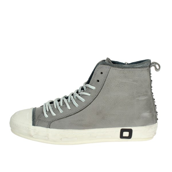 D.a.t.e. Shoes High Sneakers Grey I18-138