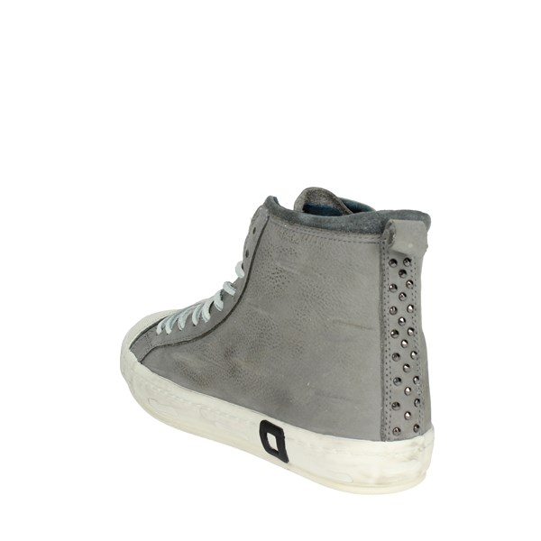 <D.a.t.e. Shoes High Sneakers Grey I18-138