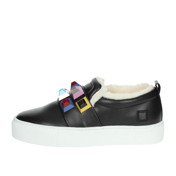 D.a.t.e. Shoes Slip-on Shoes Black I18-133