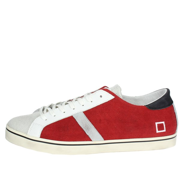 D.a.t.e. Shoes Low Sneakers Red E18-149