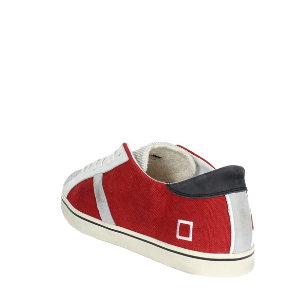 <D.a.t.e. Shoes Low Sneakers Red E18-149