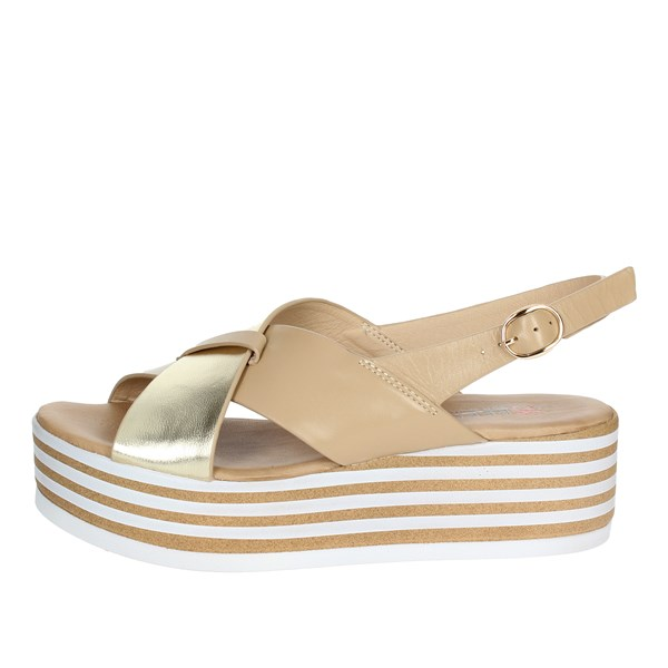 Repo Shoes Sandals Beige/gold 54249