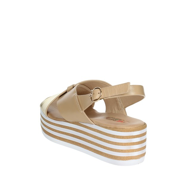 <Repo Shoes Sandals Beige/gold 54249