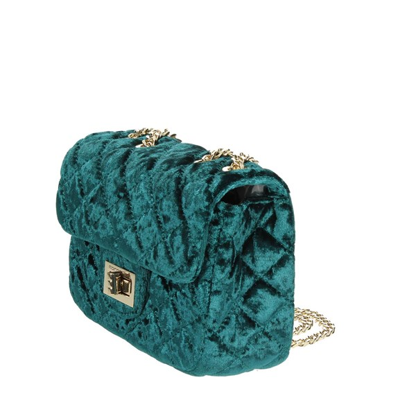 Fornarina Accessories Bags Dark Green AI18DH228A036