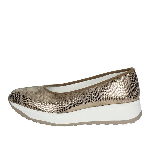 Cinzia Soft Shoes Ballet Flats Gold IV8333-B 003