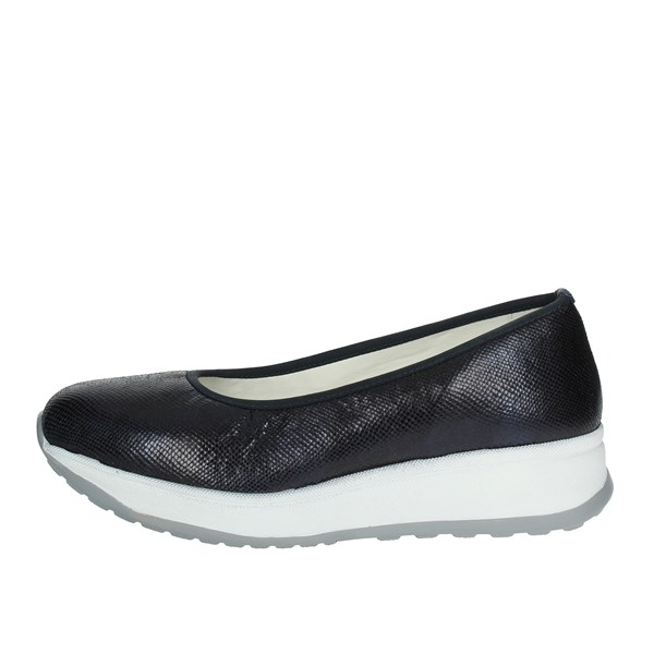 Cinzia Soft Shoes Ballet Flats Blue IV8333-B 002