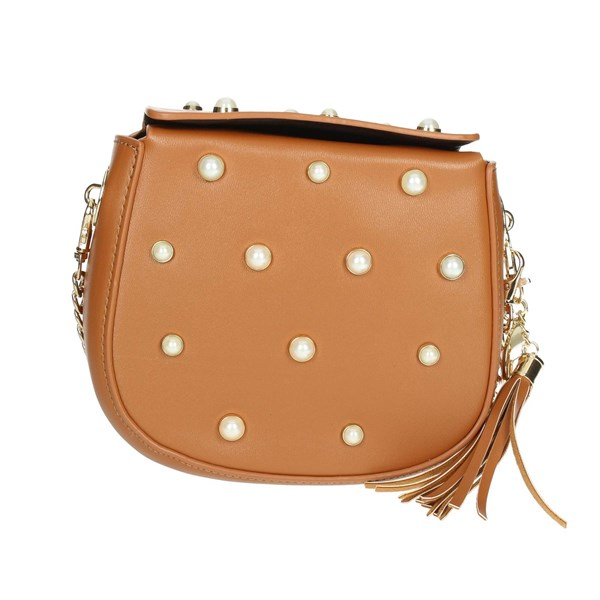 Fornarina Accessories Bags Brown leather AI18LA614P067