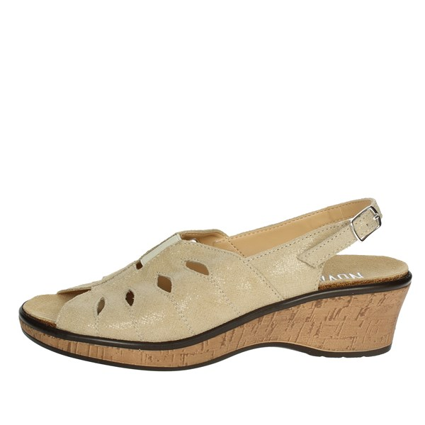 Novaflex Shoes Sandal Beige BORGAMALE 002