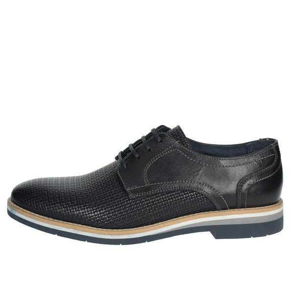 Pregunta Shoes Brogue Blue PAE96019 001