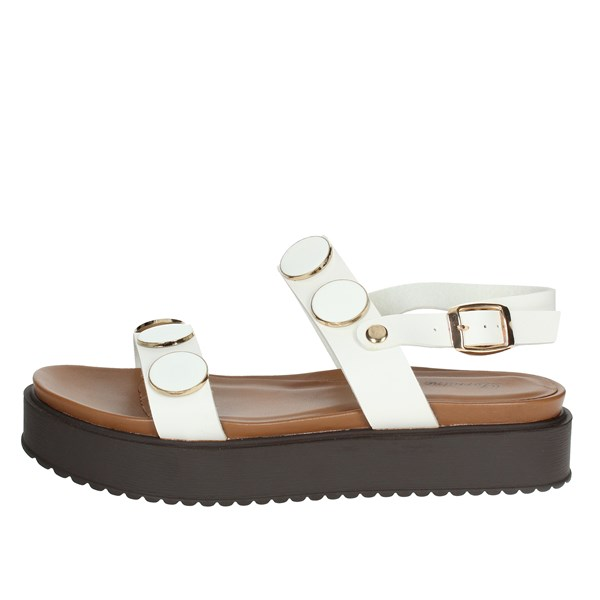 Lorraine Shoes Sandals White 18258