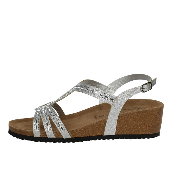 Lorraine Shoes Sandals Silver 18159