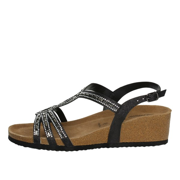 Lorraine Shoes Sandals Black 18159