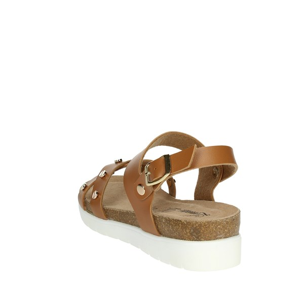 Lorraine Shoes Sandals Brown leather 18355