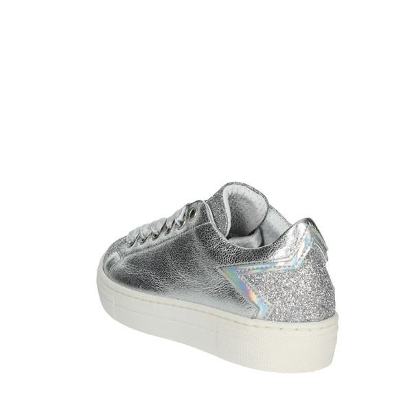 Le Petit Bijou Shoes Sneakers Silver 8122-LP
